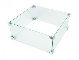 Feuertisch Glas